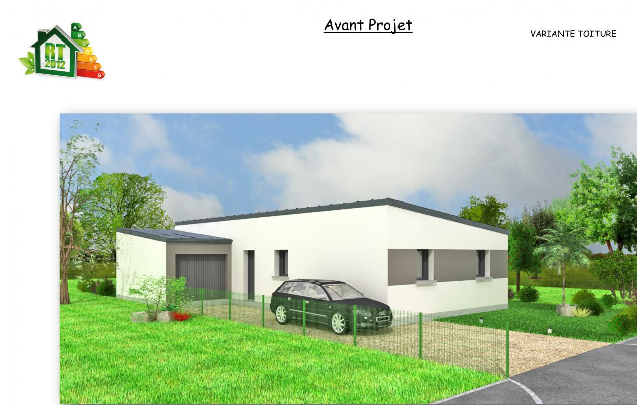 Maison contemporaine - 90 m²